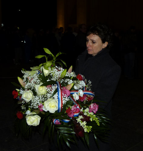 The French Ambassador has attended the Last Post on 2nd March, 2011.
