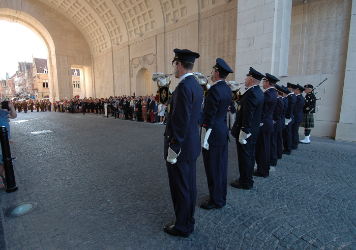 Attend a ceremony of The Last Post Association