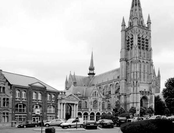 Saint-Martin Cathedral, Ypres – Belgium