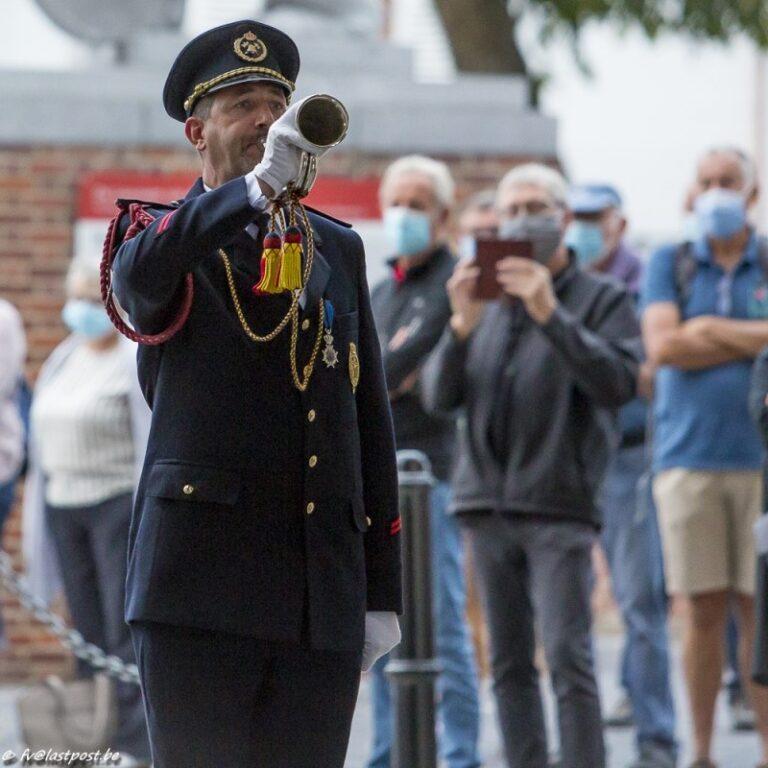 Tonny Desodt 25 jaar klaroener - Afscheid van Ambassadeur Andrews (Nieuw-Zeeland)