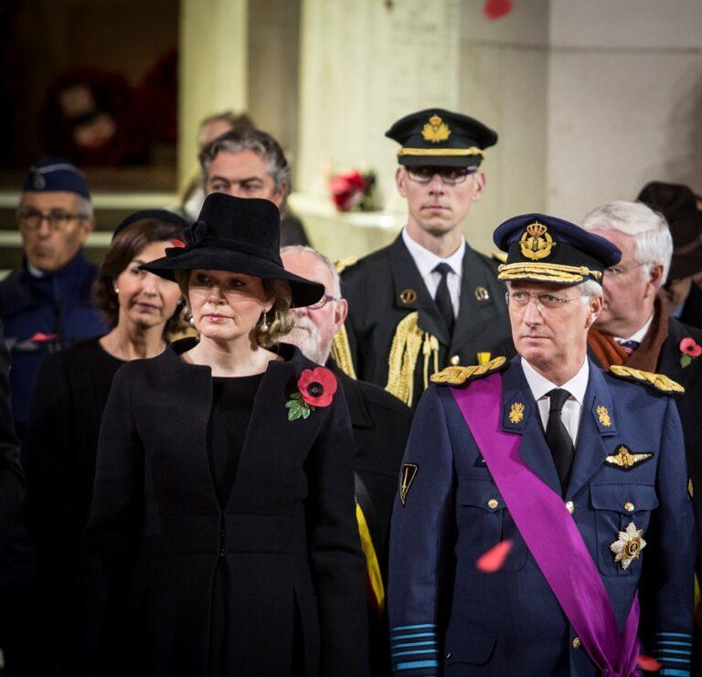 Armistice 2018: speeches Chairman Benoit Mottrie