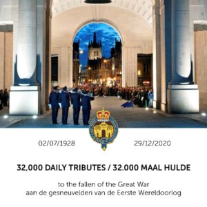 Special Last Posts for the Menin Gate Lions and ANZAC Day