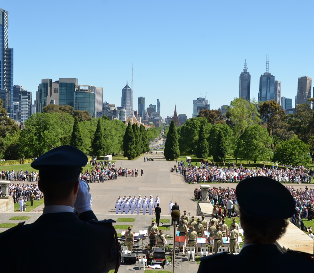 A delegation of the Last Post Association travels to Australia for Armistice