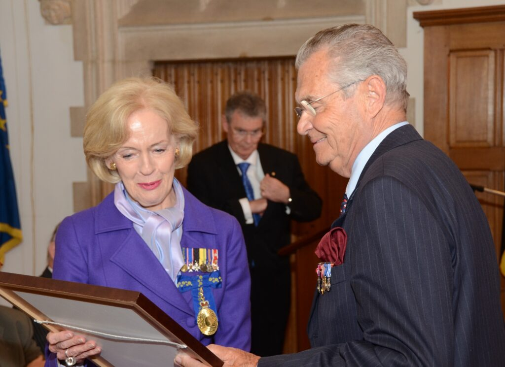 Visit of the Governor-General of the Commonwealth of Australia