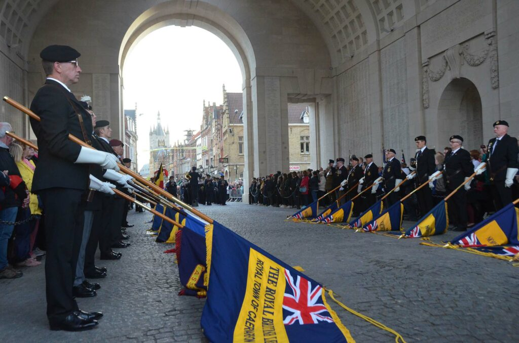 75 years resumption of the Last Post after the liberation on 06/09/1944
