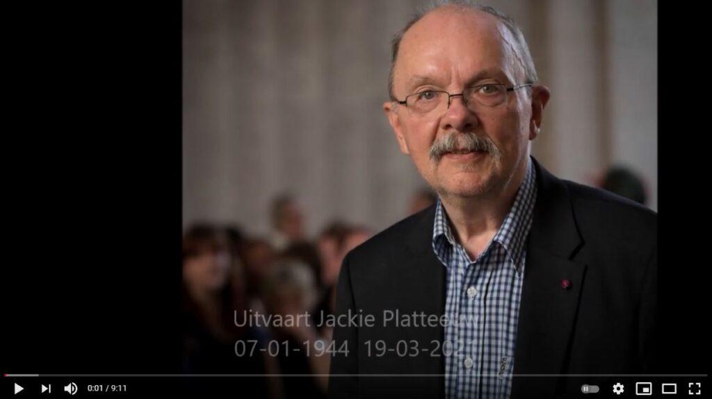 Afscheid van Jackie Platteeuw