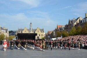 4th Ypres Memorial Tattoo on 28/09/2014